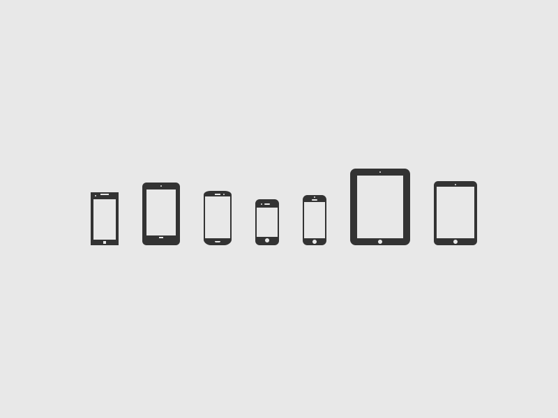 800x600 Mobile Devices Icons V 2.0 [Psd] By Loris Grillet