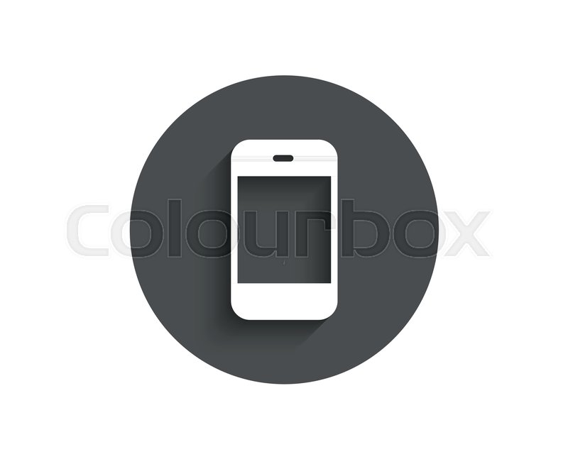 800x647 Smartphone Icon. Cellphone Or Phone Sign. Mobile