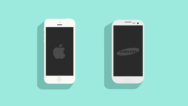 600x338 Vector Mobile Device Mockups Ios