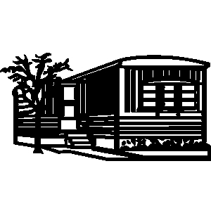 300x300 Double Wide Mobile Home Clipart Wwwimgkidcom The, Mobile Home Clip