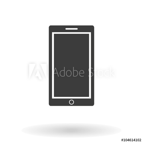 500x500 Mobile Icon Vector. Mobile Icon Jpeg. Mobile Icon Picture. Mobile