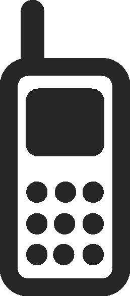258x587 Mobile Phone Icon Clip Art