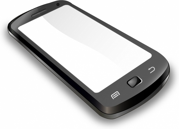 600x432 Mobile Phone Free Vector In Adobe Illustrator Ai ( .ai