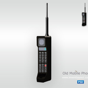300x300 Old Mobile Phone Vector