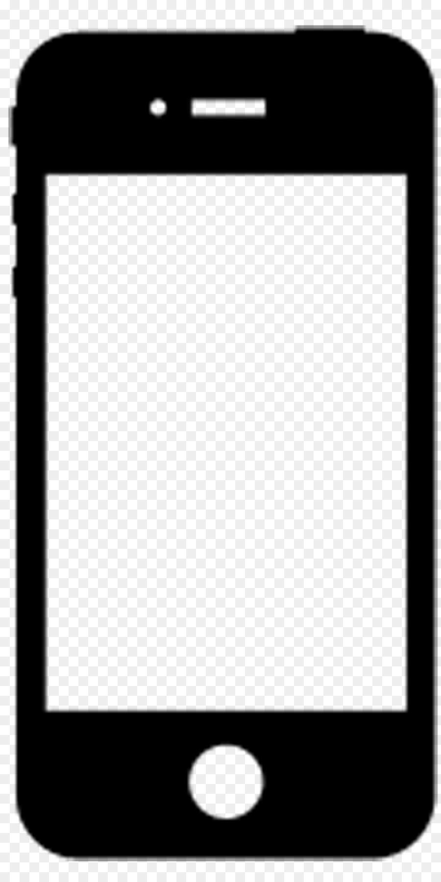 900x1800 Iphone Smartphone Telephone Clip Art