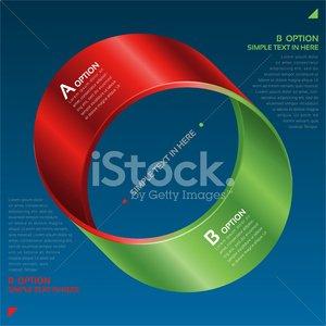 300x300 Mobius Strip Of Vector Option Stock Vectors