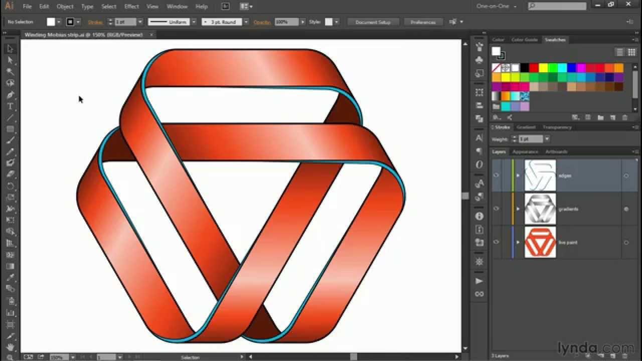 1280x720 Illustrator Tutorial Drawing A Strip In Illustrator