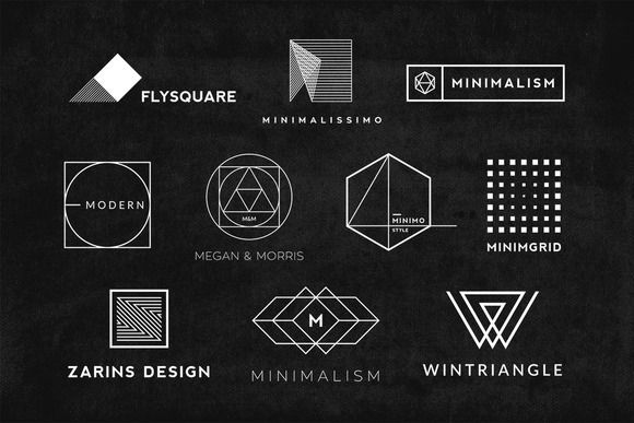 580x387 Minimal And Modern Logo Templates For Everyone. Ten Templates To