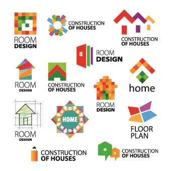 340x340 Modern Logo Design Vector 02 Free Download