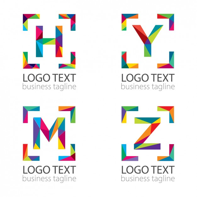 626x626 Modern Letters Logo Vector Free Download