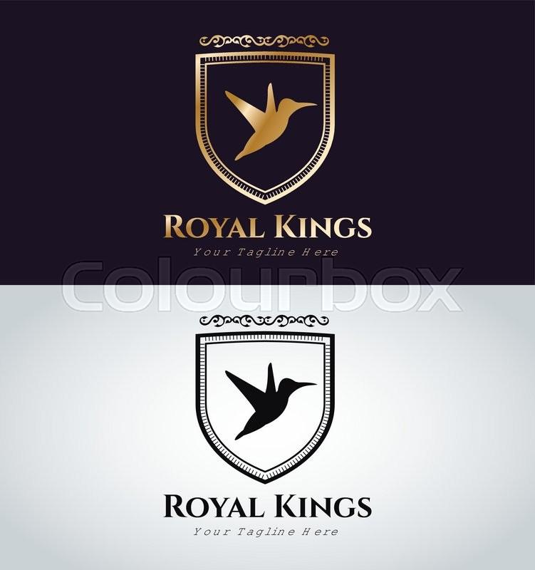 751x800 Royal Logo Vector Logo. Bird Logo. Kings Symbol. Royal Crests