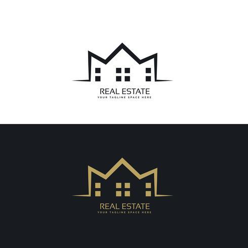 490x490 Modern Logo Design For Real Estate Sector