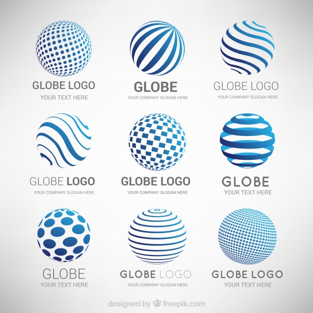 626x626 Collection Of Abstract Modern Logos Vector Free Download