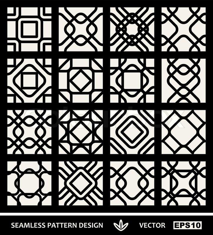 Modern Pattern Vector