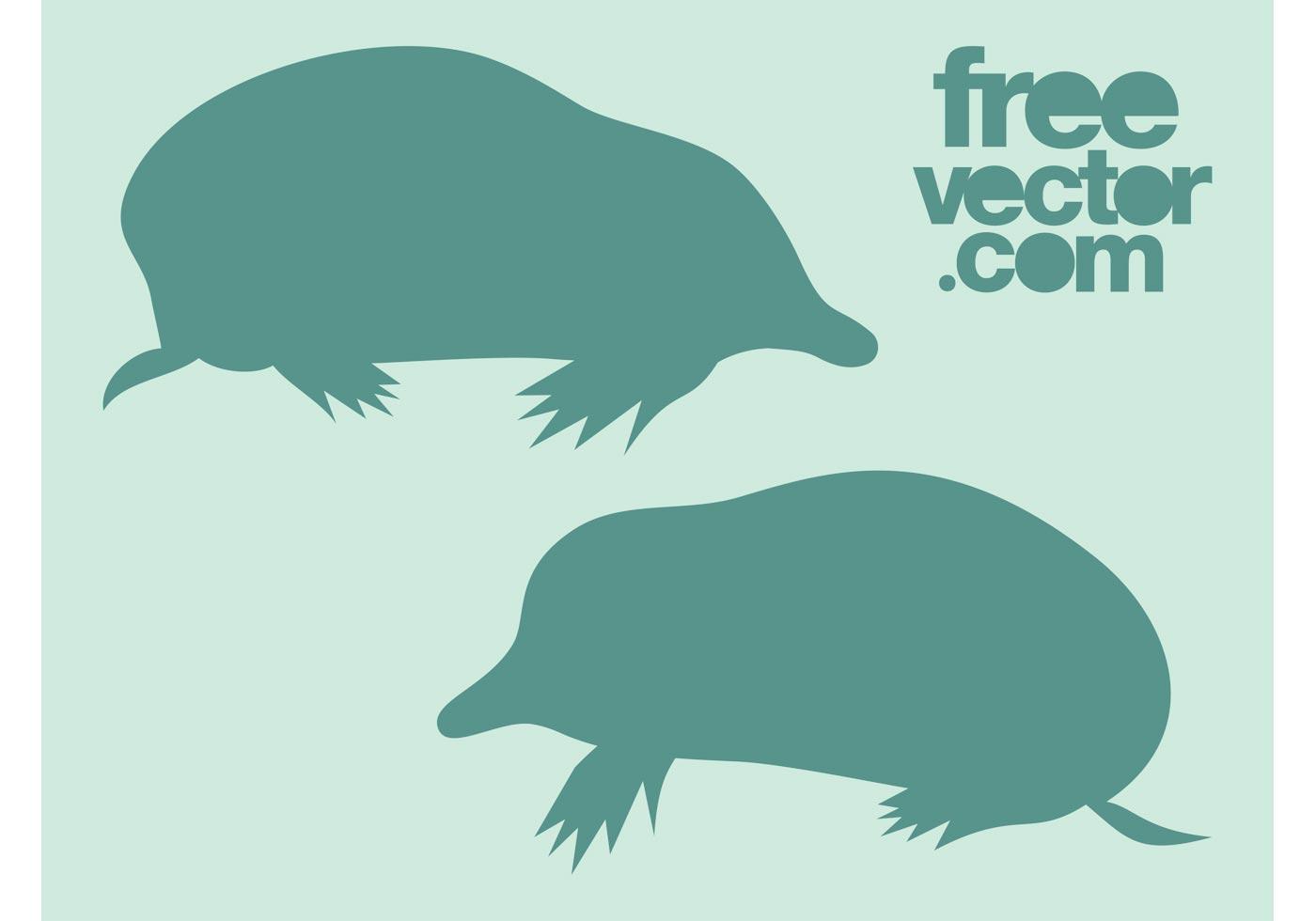 1400x980 Mole Animal Free Vector Art