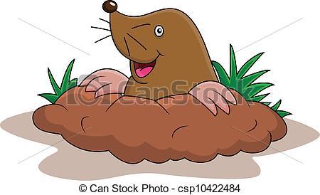 450x274 Happy Mole Cartoon.