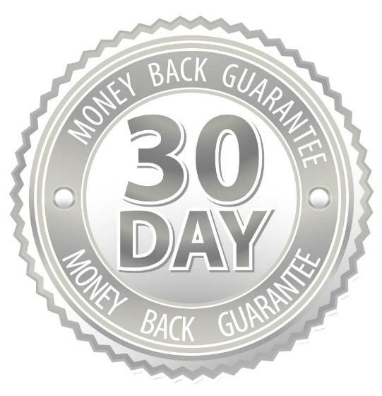541x560 Free Grey 30 Day Money Back Guarantee Vector Badge
