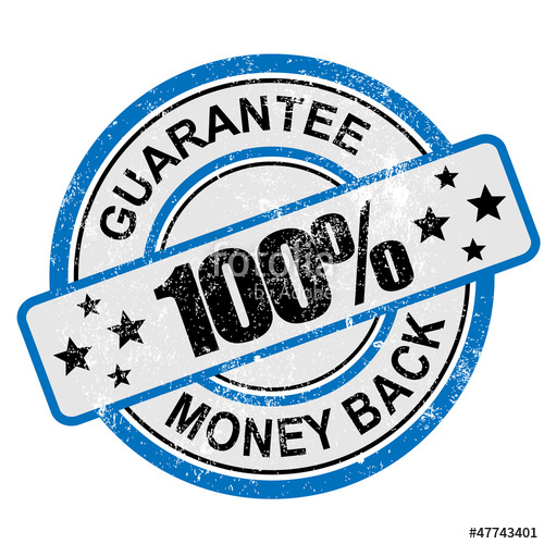 500x500 100 Guarantee Moneyback Grunge Stock Image And Royalty Free