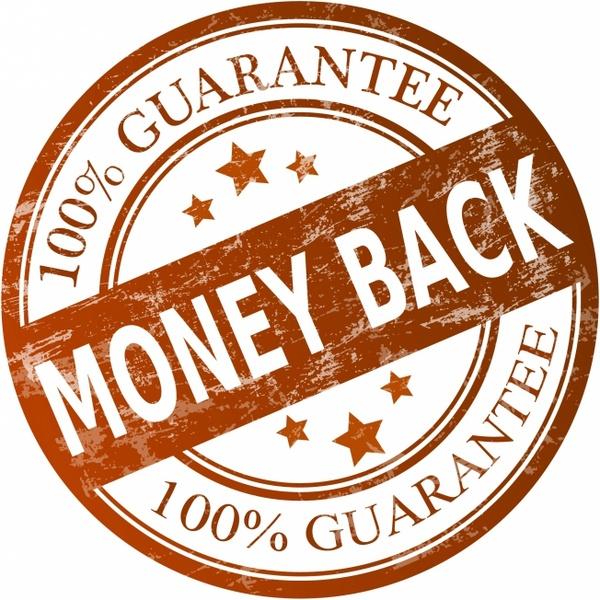 600x600 Money Back Guarantee Free Vector In Adobe Illustrator Ai ( .ai