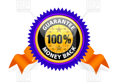 400x277 Money Back Guarantee Vector Image Vector Artwork Of Objects