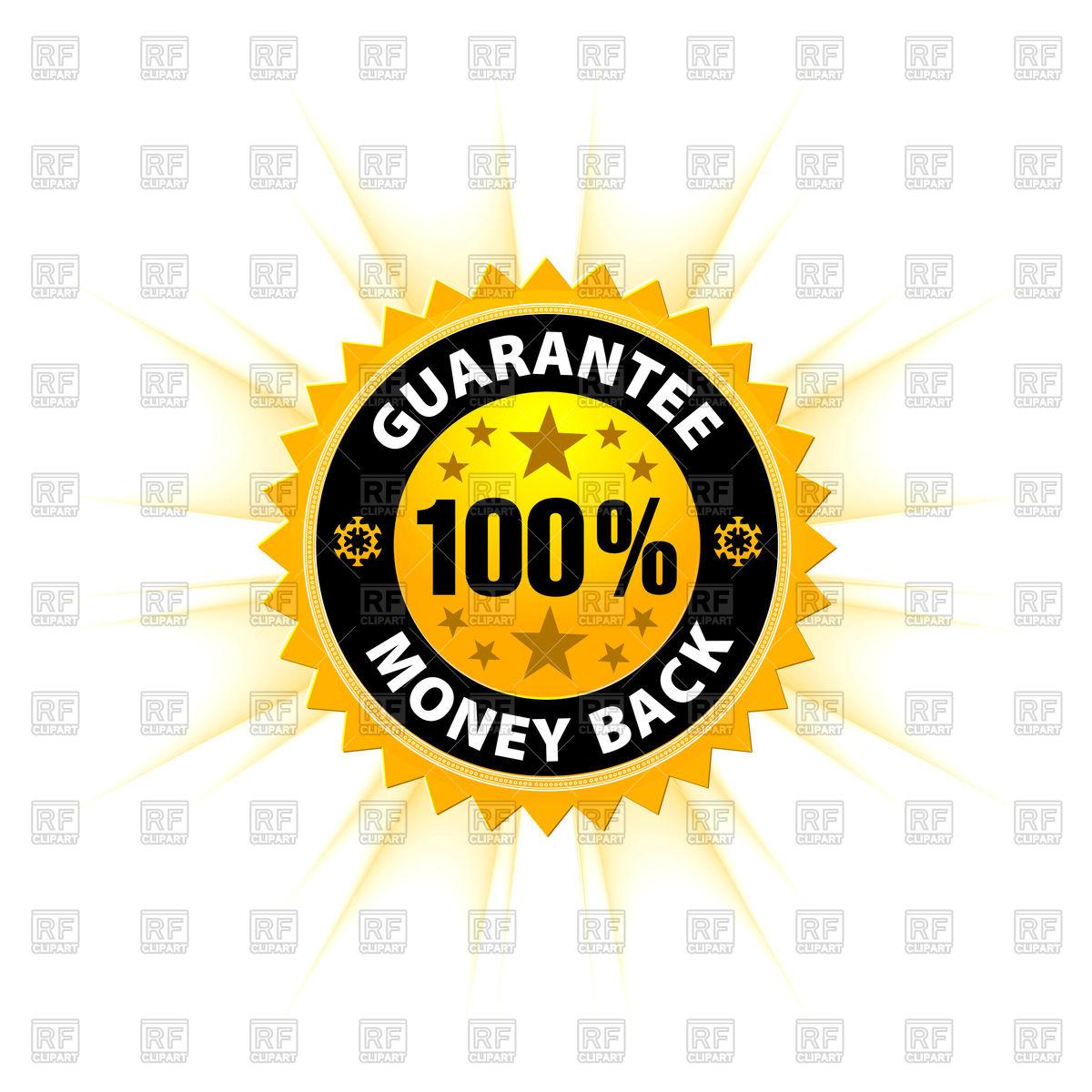 1200x1200 Money Back Guarantee Icon Vector Image Vector Artwork Of Signs