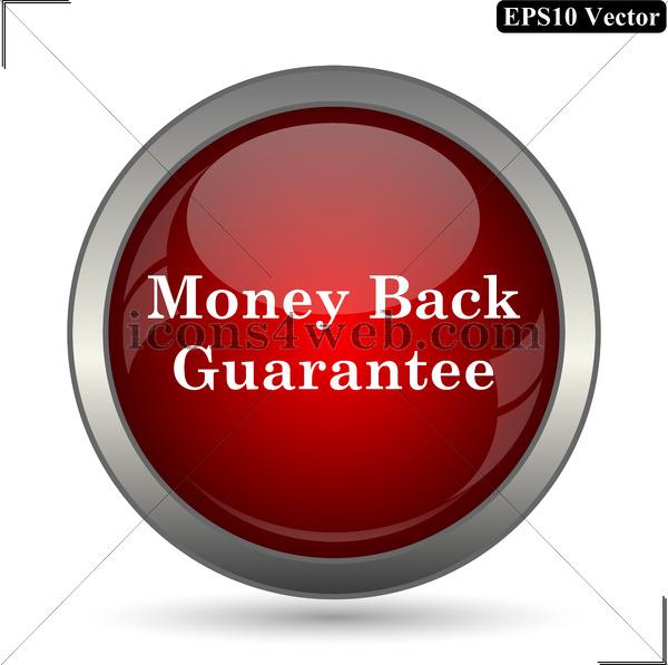 600x597 Money Back Guarantee Vector Icon. Money Back Guarantee Vector