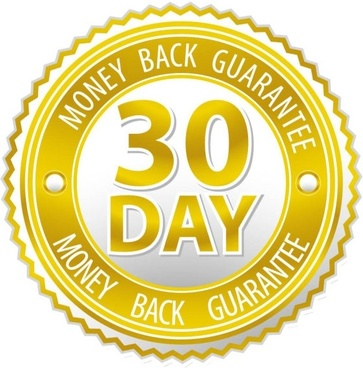 363x368 30 Day Money Back Guarantee Free Vector Download (5,614 Free