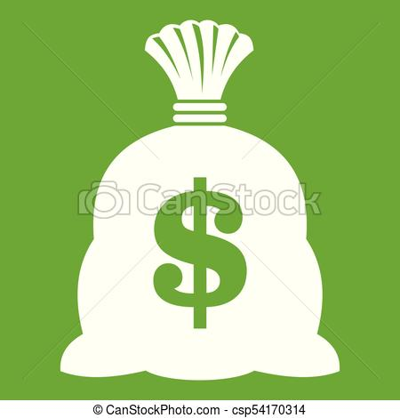 450x470 Money Bag With Us Dollar Sign Icon Green. Money Bag With Us Dollar