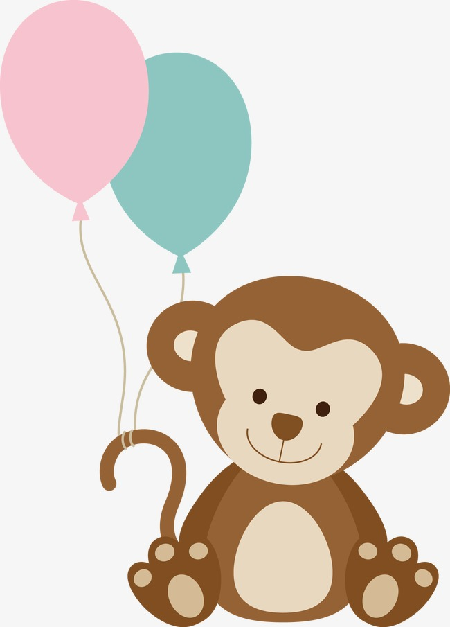 650x905 Monkey Vector, Monkey Clipart, Animal, Cartoon Png Image And
