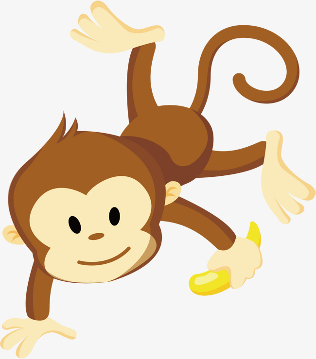 650x739 Banana Monkey Vector, Monkey Clipart, Banana, Monkey Png And