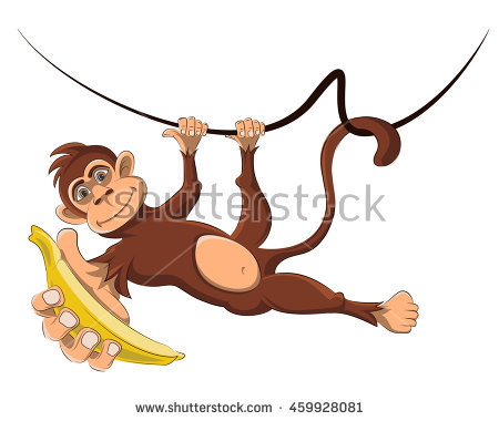 450x380 Chibi Monkey Vector Cartoon Download Free Vector Art Stock Monkey