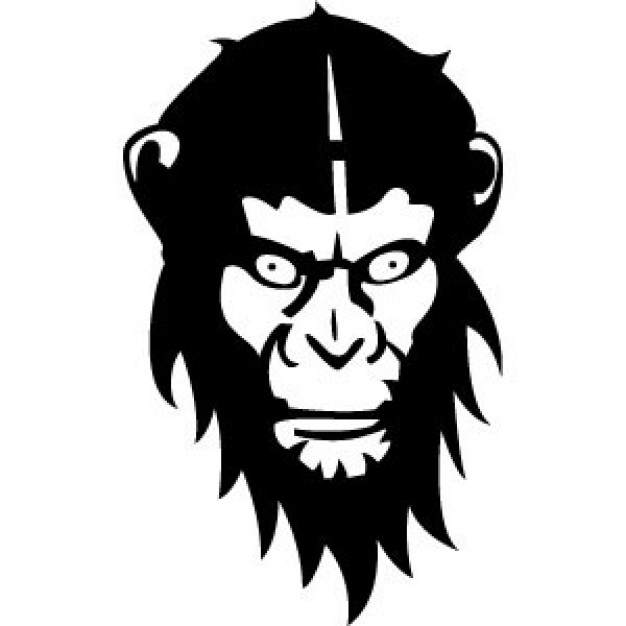 626x626 Monkey Vector Stock Images