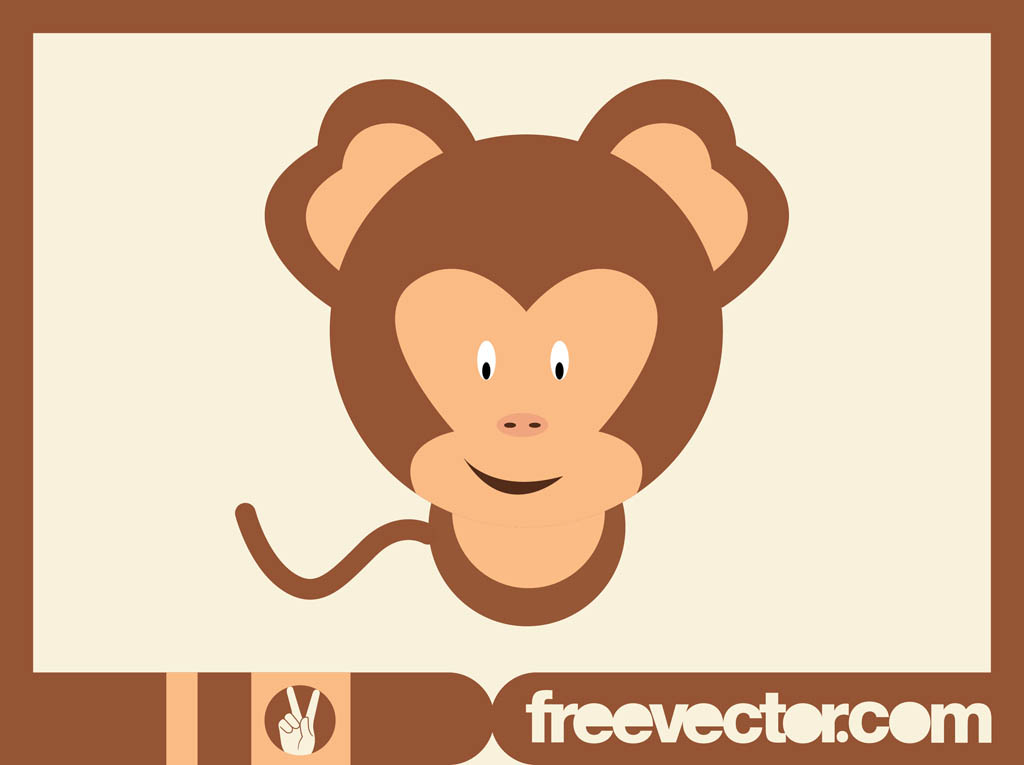 1024x765 Cartoon Monkey Vector Art Amp Graphics