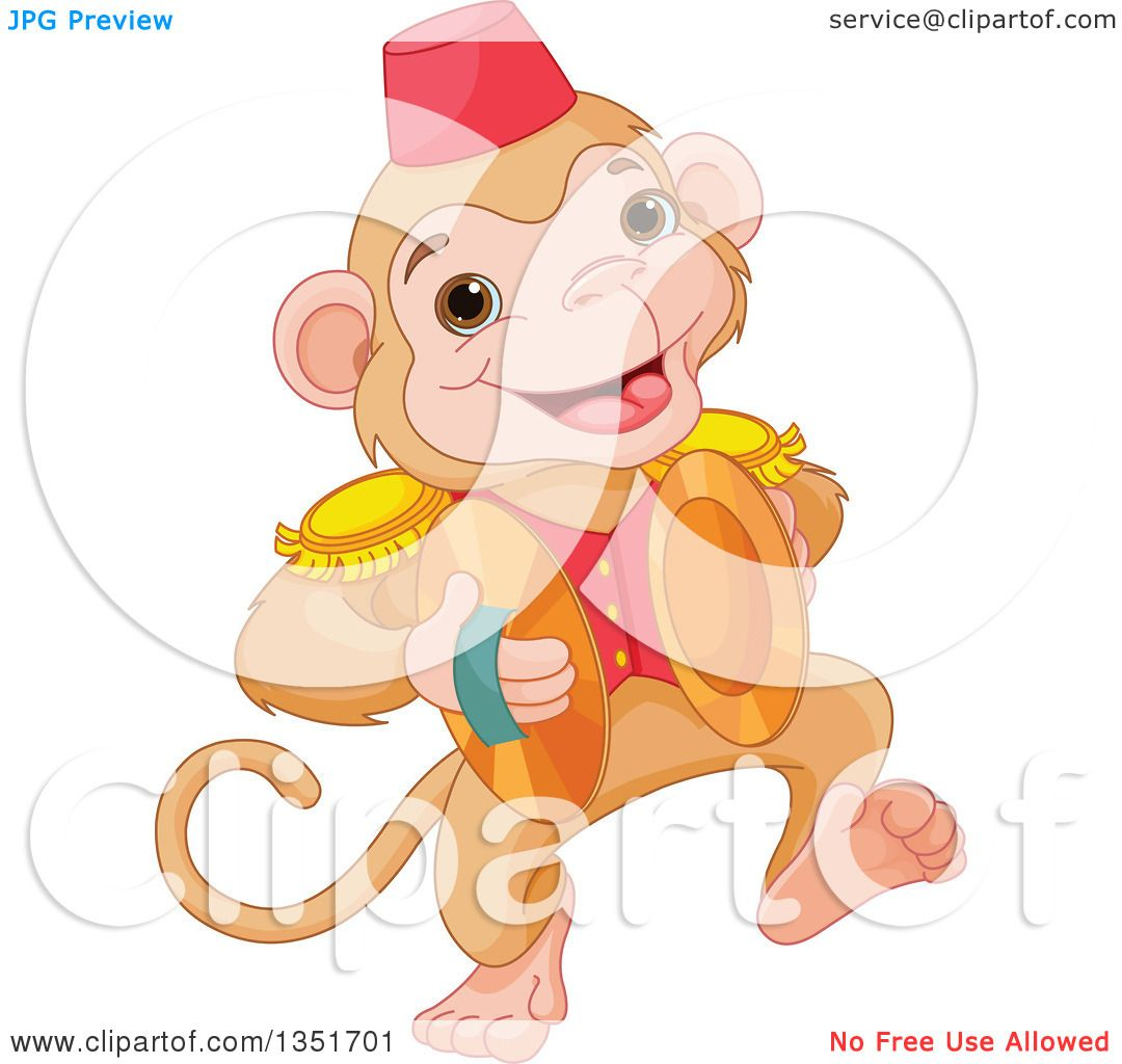 1080x1024 Vector Clipart Monkey
