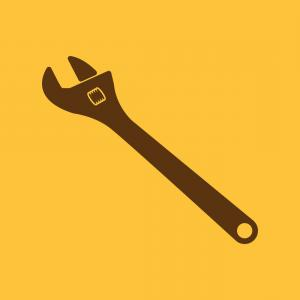 300x300 Stock Illustration Pipe Or Monkey Wrench Icon Rongholland