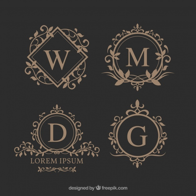626x626 Monogram Vectors, Photos And Psd Files Free Download