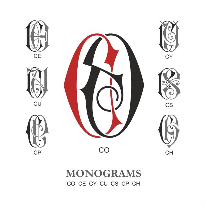 666x666 Monogram Vector Vector Monogram Collection