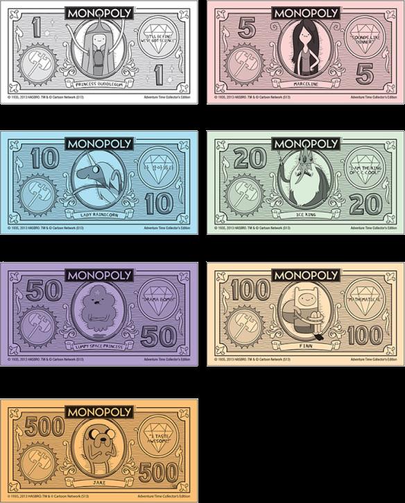 Monopoly Money Vector
