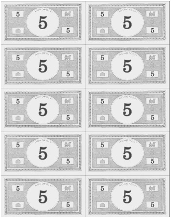 It is an image of Free Printable Play Money pertaining to dollar bill