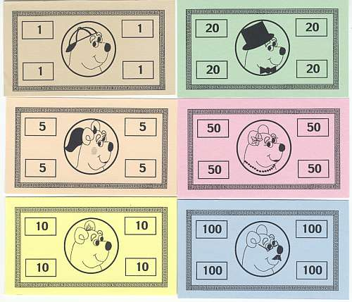 It's just a graphic of Playing Money Printable in learning