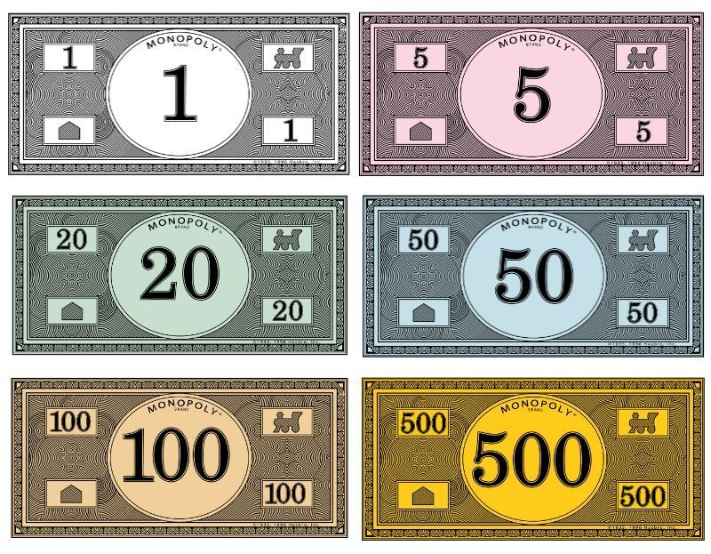 Monopoly Geld Drucken