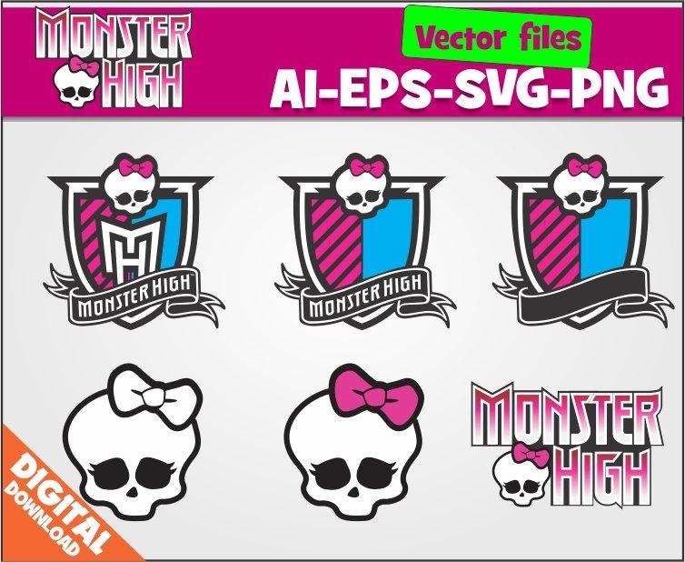 754x618 Monster High Svg Monster High Clipart Monster High Party Etsy