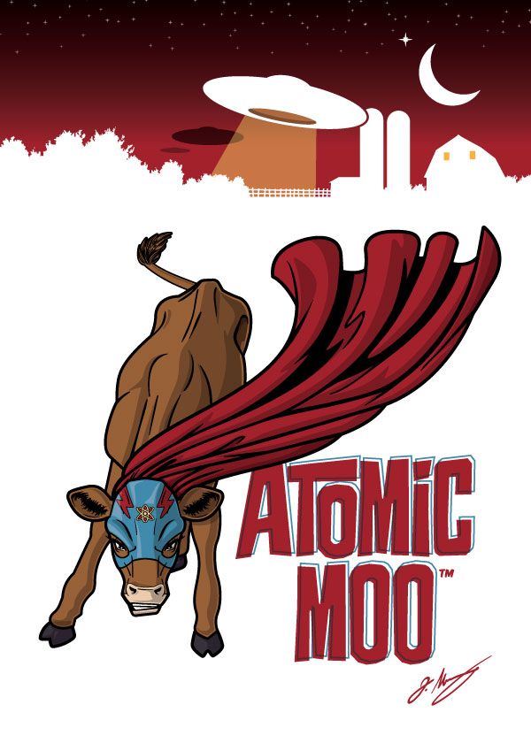 600x840 Atomic Moo Vector By Jrmurray76