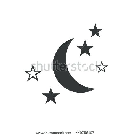 450x470 Moon And Stars Designs Moon And Stars Vector Design Collierotary