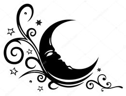 260x198 Download Moon With Stars Vector Clipart Moon Star And Crescent