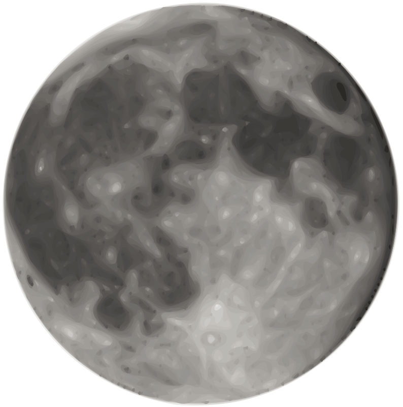 794x800 Full Moon Free Vector 4vector
