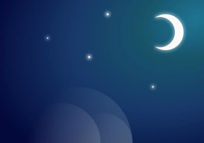 700x490 Moon Vector New Moon Free Vector Art Free Downloads 3axid