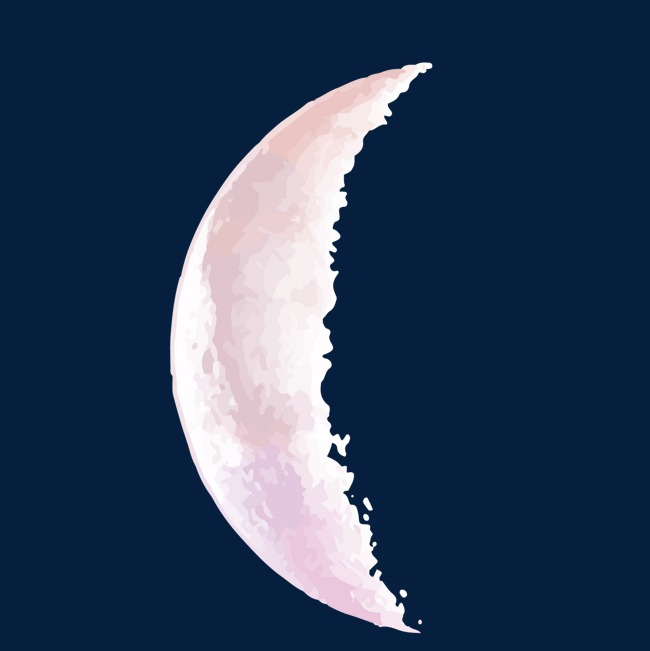 650x651 Vector, Sky, Solid, Semicircle, Moon, Moon Vector, Vector Diagram