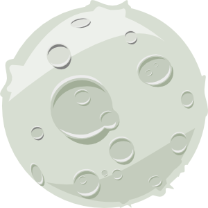 300x300 Collection Of Free Vector Moon. Download On Ubisafe