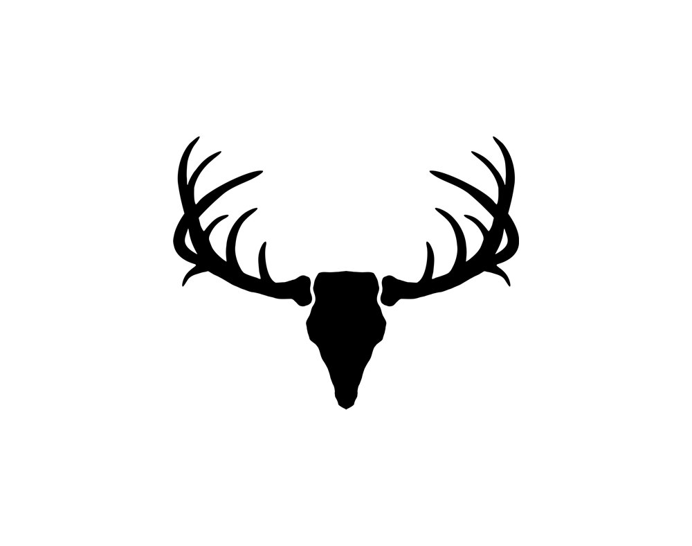 1000x788 Antler Clipart Silhouette